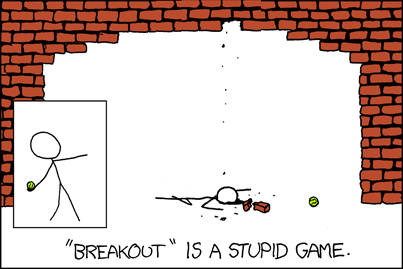XKCD Brick Archway
