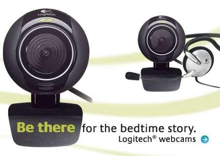 Logitech-Werbung
